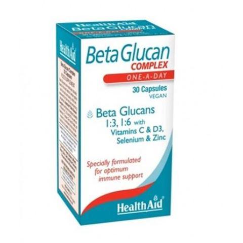 Health Aid BetaGlucan Complex 30 Κάψουλες