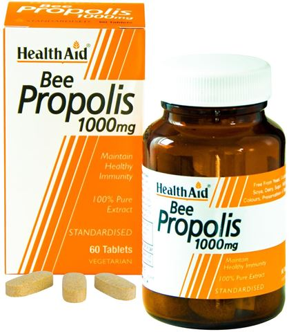 Health Aid Bee Propolis 60 Ταμπλέτες