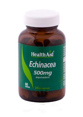Health Aid Echinacea (Purpurea) 500mg, 60 Ταμπλέτες