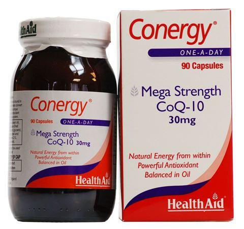 Health Aid Συνένζυμο Q10 30μg, 90 Κάψουλες