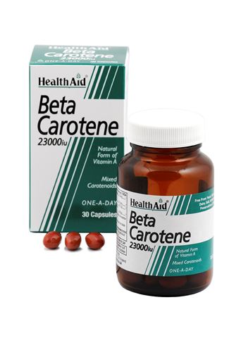 Health Aid Βήτα-καροτίνη 30 Κάψουλες