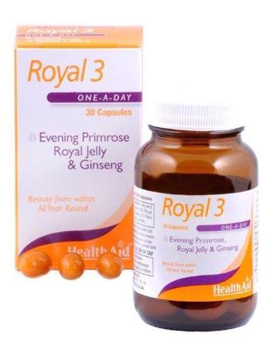 Health Aid Royal 3, 30 Κάψουλες