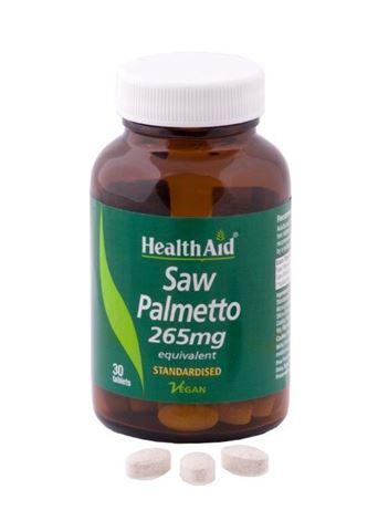 Health Aid Saw Palmeto 30 Ταμπλέτες