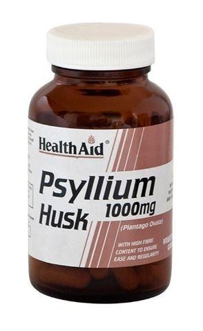 Health Aid Psyllium Husk 60 κάψουλες