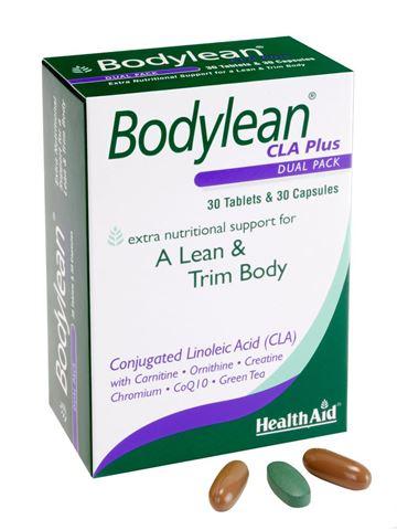 Health Aid Bodylean CLA Plus 30 Ταμπλέτες & 30 Κάψουλες