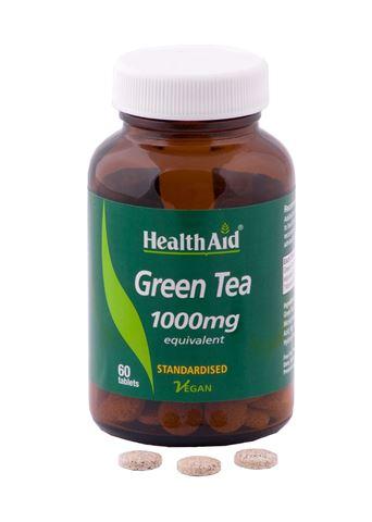 Health Aid Πράσινο Τσάι 1000mg