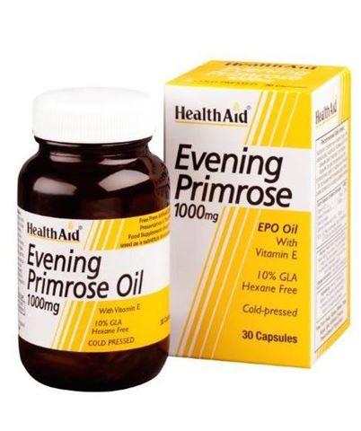 Health Aid Evening Primrose Oil 1000mg, 30 Κάψουλες