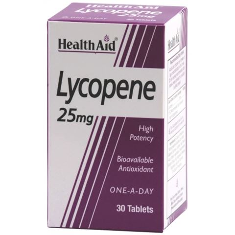 Health Aid Lycopene 30 Ταμπλέτες