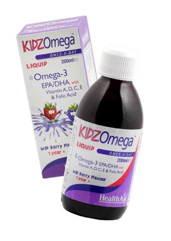 Health Aid KIDZ Omega with Vitamins Σιρόπι 200ml