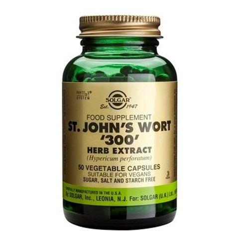 Solgar St. John's Wort Herb Extract 300mg, 50 Φυτικές Κάψουλες