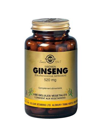 Solgar Siberian Ginseng 100 Φυτικές Κάψουλες