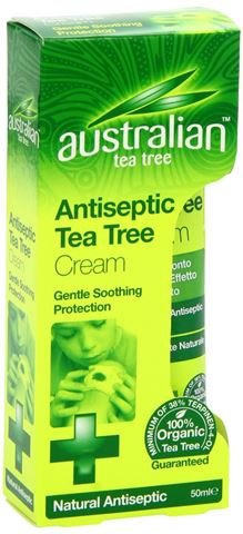 Optima Australian Tea Tree Antiseptic Cream 50ml