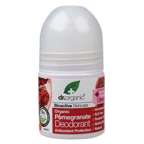 Dr. Organic, Organic Pomegranate Deodorant 50ml