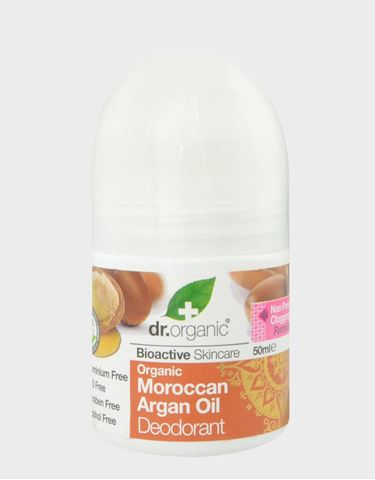 Dr. Organic, Organic Moroccan Argan Oil Deodorant 50ml