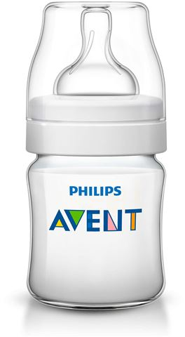 Avent Classic Πλαστικό Μπιμπερο 125ml - χωρις BPA SCF560/17, 0m+