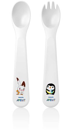 Avent Πηρούνι - Κουτάλι 12M+, SCF712/00