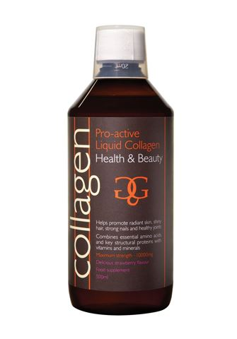 Collagen Pro-Active Φράουλα 600ml