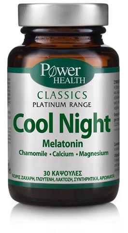 Power Health Platinum Cool Night 30 Κάψουλες