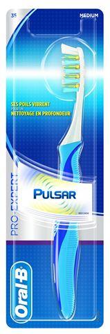 Oral-B Οδοντόβουρτσα Pulsar Medium 35