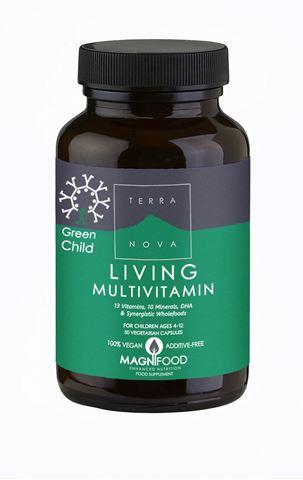 Terranova Green Child Living Multivitamin 50 Κάψουλες