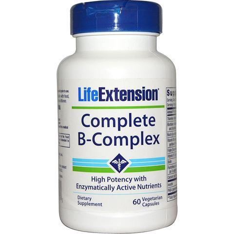 Life Extension Complete B Complex 60 Φυτικές Κάψουλες