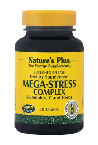Nature's Plus Mega Stress 30 Ταμπλέτες