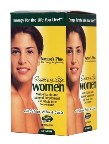 Nature's Plus Source Of Life Women's Multi-Vitamin 60 Ταμπλέτες