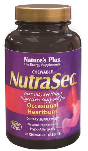 Nature's Plus Nutrasec 90 Μασώμενες Ταμπλέτες