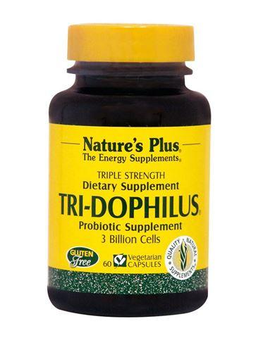 Nature's Plus Tri-dophilus 60 Φυτικές Κάψουλες