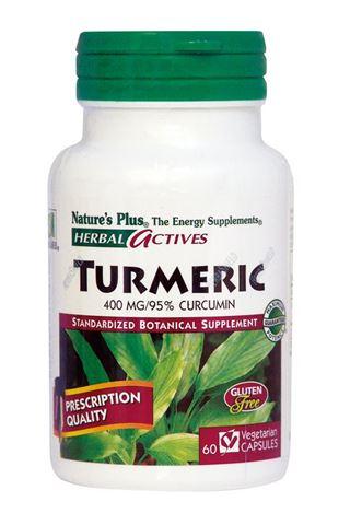 Nature's Plus Turmeric 400mg, 60 Φυτικές Κάψουλες