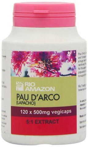 Rio Trading Lapacho (Pau d'Arco), 60 φυτοκάψουλες