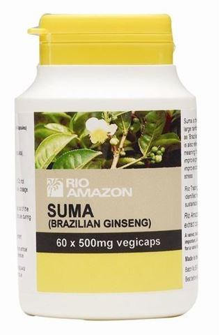 Rio Trading Suma (Brazilian Ginseng) 500mg 60 Φυτικές Κάψουλες