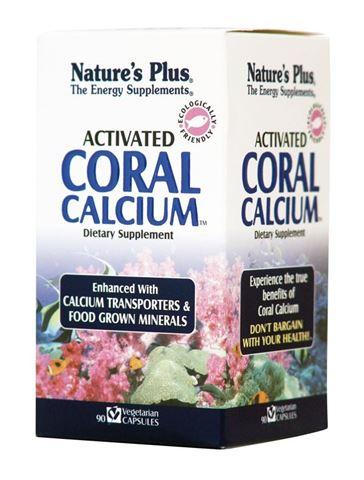 Nature's Plus Coral Calcium (Activated 1000mg, 90 φυτικές κάψουλες