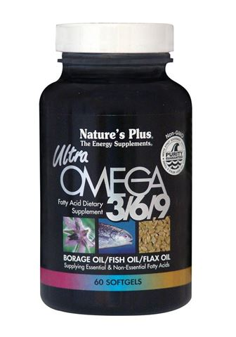 Nature's Plus Ultra Omega 3/6/9 1200mg, 60 μαλακές κάψουλες