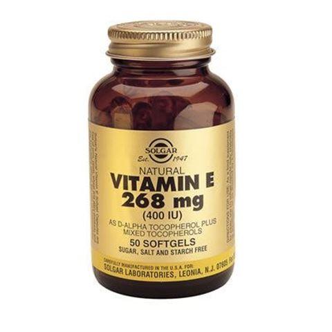 Solgar Vitamin E Natural 400 IU 50 Μαλακές Κάψουλες