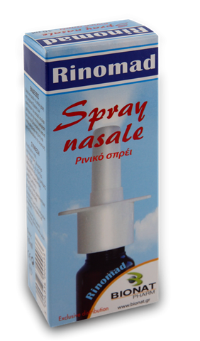 Bionat Rinomad Ρινικό Σπρέυ 10 ml