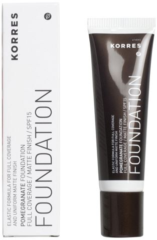Korres Make Up Ρόδι SPF15, PF4, 30ml