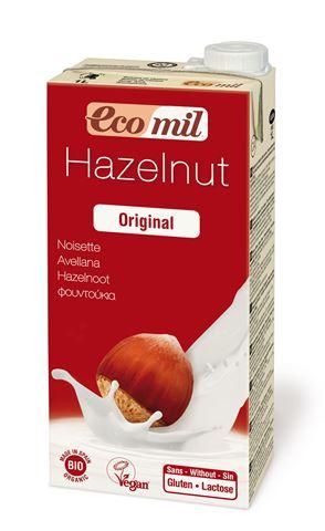 Ecomil Γάλα Φουντουκιού με Σιρόπι Αγαύης 1lt
