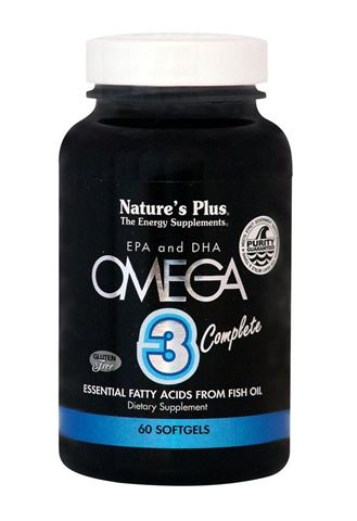Nature's Plus, Omega 3 Complete, 60 Μαλακές Κάψουλες