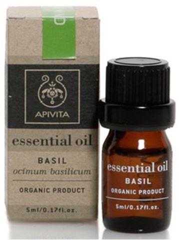 Apivita Essential Oil Βασιλικός 5ml