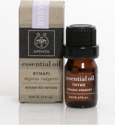 Apivita Essential Oil Θυμάρι 5ml