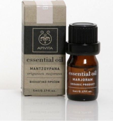 Apivita Essential Oil Μαντζουράνα 5ml