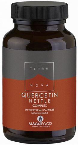 Terranova Quercetin Nettle Complex, 50 Κάψουλες