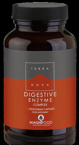 Terranova Digestive Enzyme Complex 100 Κάψουλες