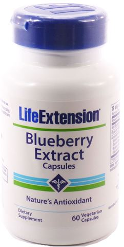 Life Extension Blueberry Extract, 60 Φυτικές Κάψουλες