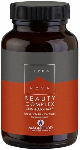 Terranova Beauty Complex Hair - Skin - Nails 100 Κάψουλες