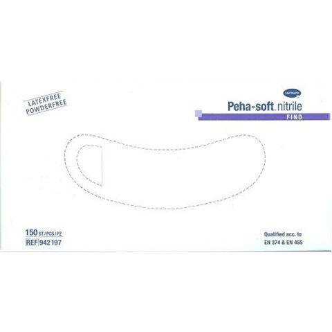 Hartmann Peha Soft Nitrile Fino, Συσκευασία με 150 Τεμάχια Size S