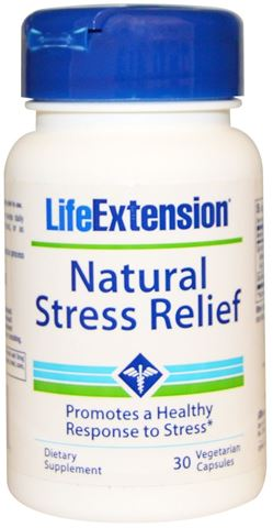 Life Extension Natural Stress Relief 30 Φυτικές Κάψουλες