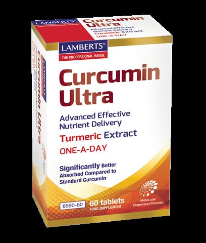 Lamberts Curcumin Ultra, 60 Ταμπλέτες
