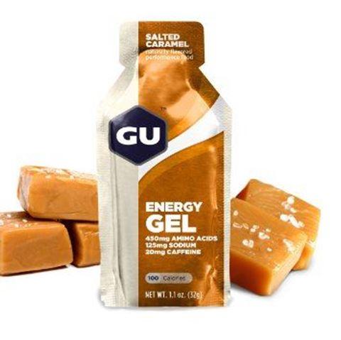 Ενεργειακό gel GU - Γεύση Aλατισμένη Καραμέλα (Salted Caramel) - καφεΐνη 20mg, Elevated Electrolytes 32gr